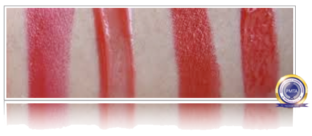 Soft Red Lip Gloss Colours