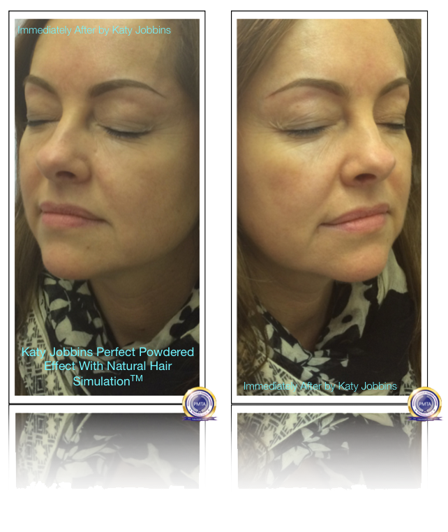 Image After Having Permanent Makeup In Support of Sisters Permanent Makeup Due To Chemo Therapy