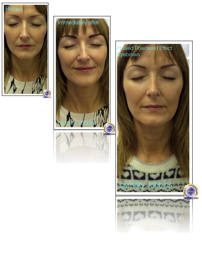 18-Katy Jobbins Permanent Makeup Perfect Powdered Effect Eyebrows