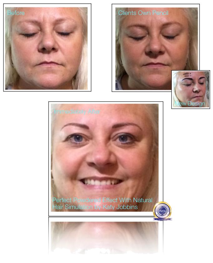 22-Katy Jobbins Permanent Makeup Perfect Powdered Effect With Natural Hair Simulation