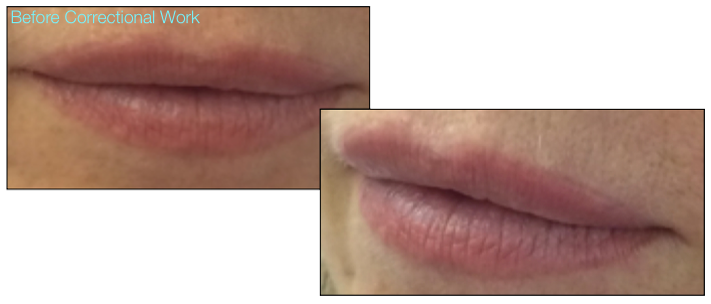 26-Katy Jobbins Permanent Makeup Watercolour Full Lip Tint And Camouflage Correctional Work