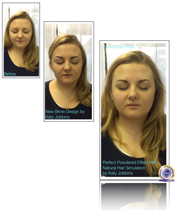 28-Katy Jobbins Permanent Makeup Perfect Powdered Effect With Natural Hair Simulation