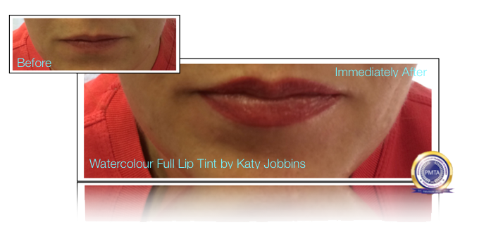 37-Katy Jobbins Permanent Makeup Watercolour Full Lip Tint