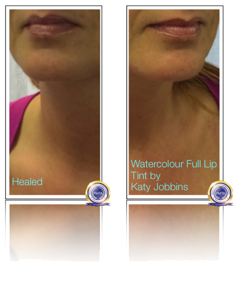 44-1-Katy Jobbins Permanent Makeup Watercolour Full Lip Tint