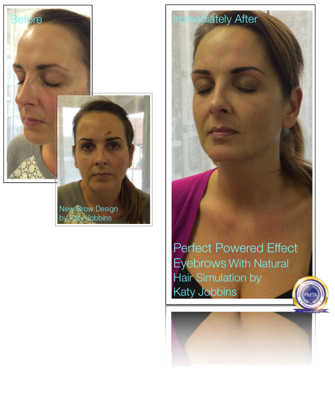 45-Katy Jobbins Permanent Makeup Perfect Powdered Effect With Natural Hair Simulation