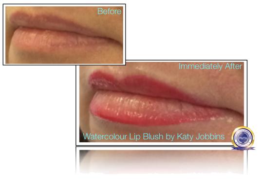 48-1-Katy Jobbins Permanent Makeup Watercolour Lip Blush