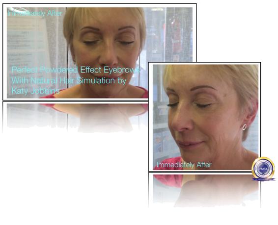 52-1-Katy Jobbins Permanent Makeup Perfect Powdered Effect With Natural Hair Simulation