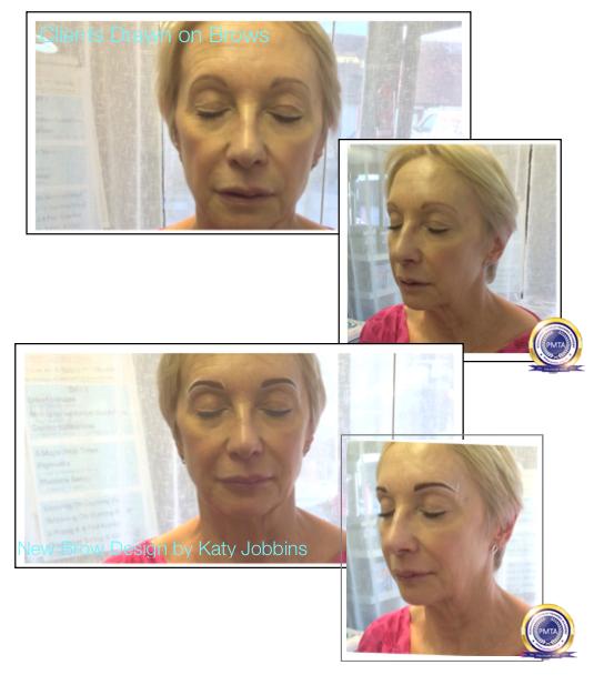 52-Katy Jobbins Permanent Makeup Perfect Powdered Effect With Natural Hair Simulation