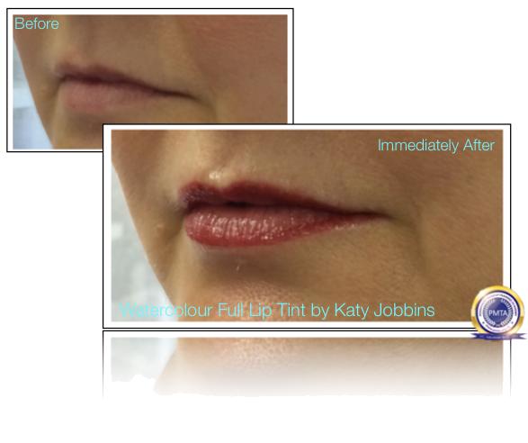 54-Katy Jobbins Permanent Makeup Watercolour Full Lip Tint