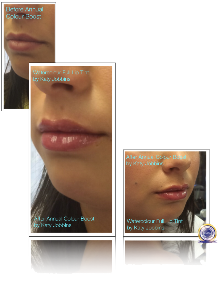 55-Katy Jobbins Permanent Makeup Watercolour Full Lip Tint