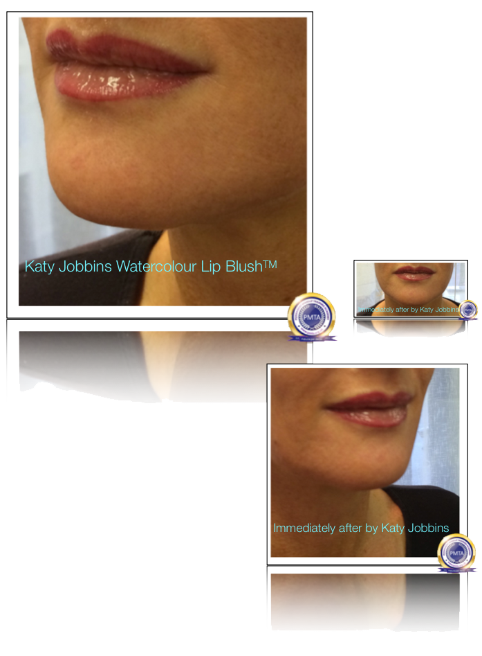 7-1-Katy Jobbins Permanent Makeup Watercolour Lip Blush