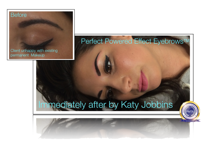 Katy Jobbins Permanent Eyebrows And Camouflage Correctional Work-Healed