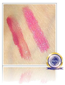 Matching Pink Lip Gloss