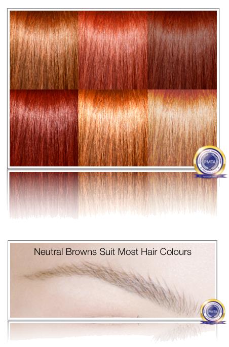 Neutral Browns Suit Most Hair Colours