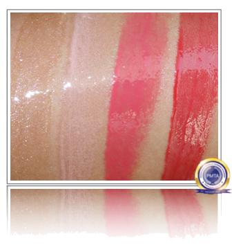 Pink Lip Gloss Comparison