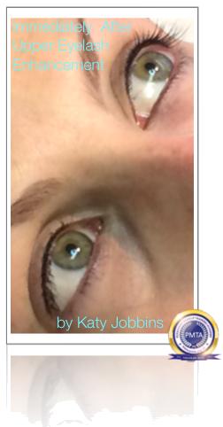 Permanent Upper Eyelash Enhancement