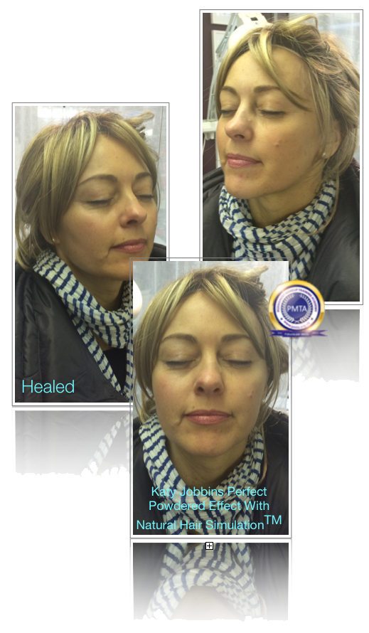 Permanent makeup for Client Undergoing Chemo Therapy