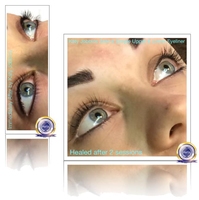 Upper & Lower Permanent Eyeliner Safely Applied