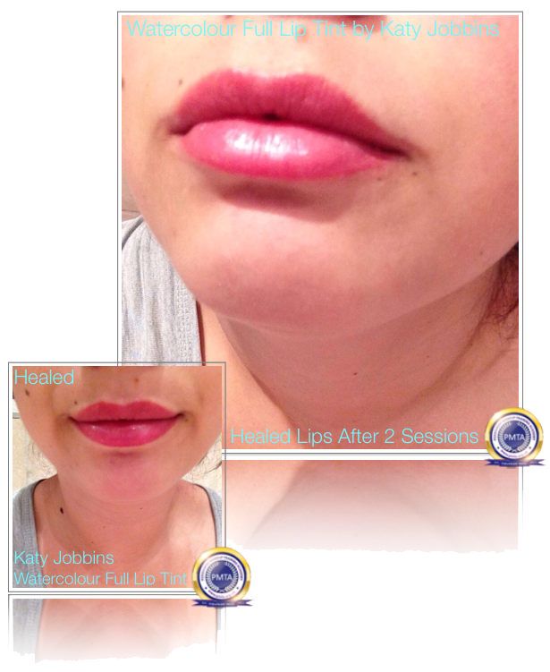 Healed Lips - Step by Step Permanent Makeup Full Lip Tint