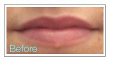 Before Permanent Makeup Watercolour Lip Blush