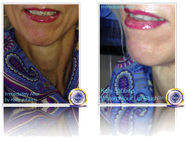 Immediately After Watercolour Lip Blush Permanent Makeup