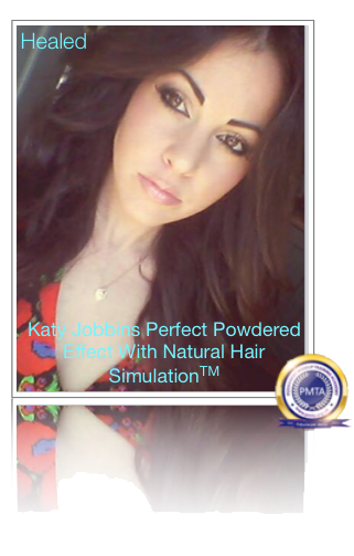 Healed Permanent Makeup Perfect Powdered Effect Eyebrows With Natural Hair Simulation