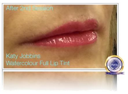 2nd Session Permanent Makeup Full Colour Lip Tint