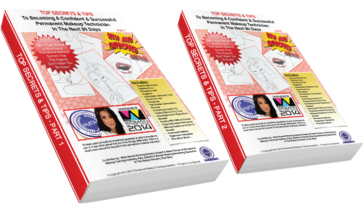 Permanent-Makeup-Academy-Top-Secrets-And-Tips Both Books